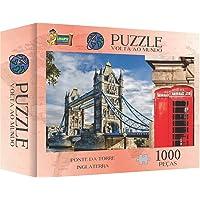 Jogo Quebra Cabeça Ponte Da Inglaterra Cidade Londres 1000 peças