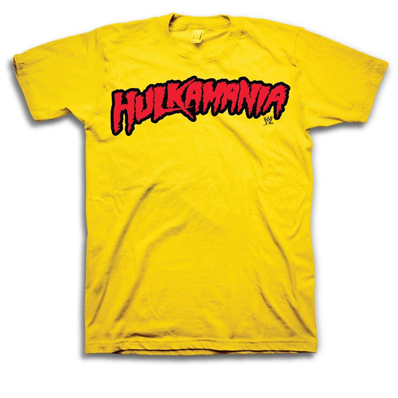 Wwe Hulk Hogan Hulkamania Adult T Shirt