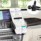 Support Telephone Voiture, Support Voiture Auto Universel Grille Air Vent Support Pour iPhone 7/7 Plus/6s Plus/5S/5C/SE, Samsung Galaxy S7/S7 Edge Smartphone avec une largeur de 54 à 94 mm