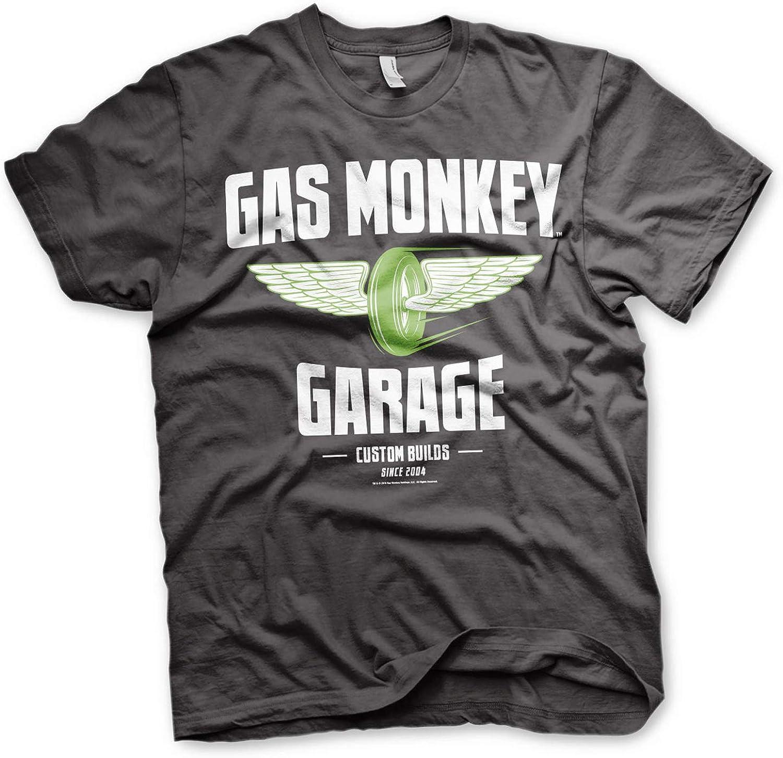 Licence Officielle GMG-Vert Hot Rod T-shirt femme S-XXL Tailles Noir
