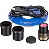 AmScope 5.0 MP USB Still & Live Video Microscope Imager Digital Camera + Calibration Kit
