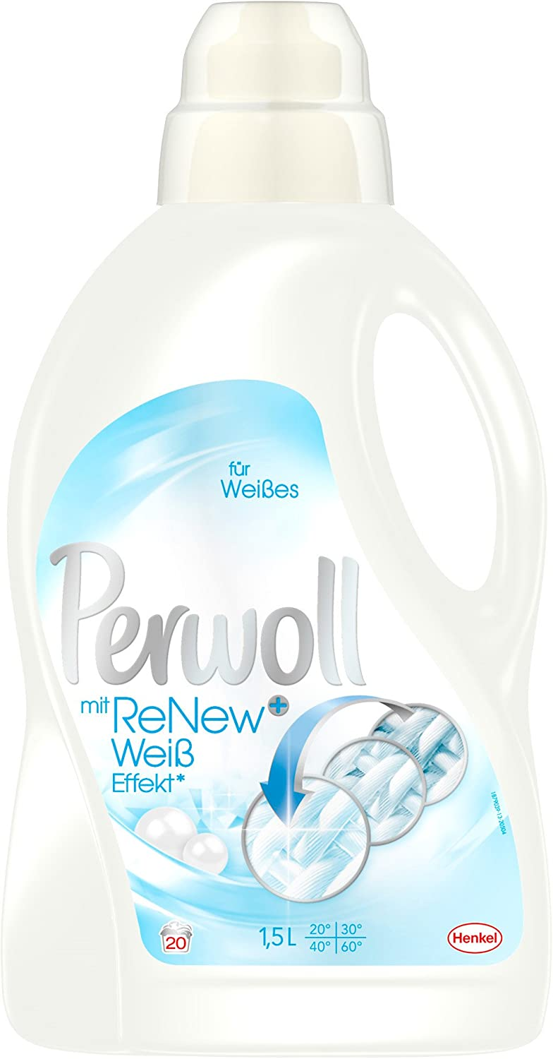 Perwoll Intensive White 1.5L Bottle by Perwoll