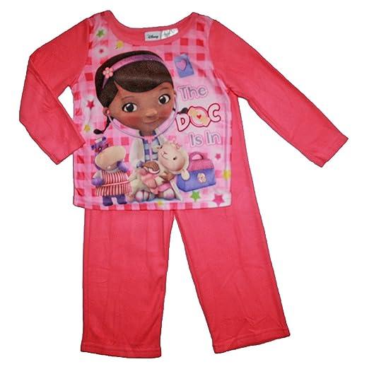e7aba6fc8100 Amazon.com  Doc Mcstuffins Baby-Girls Infant Girls 2pc Flannel ...