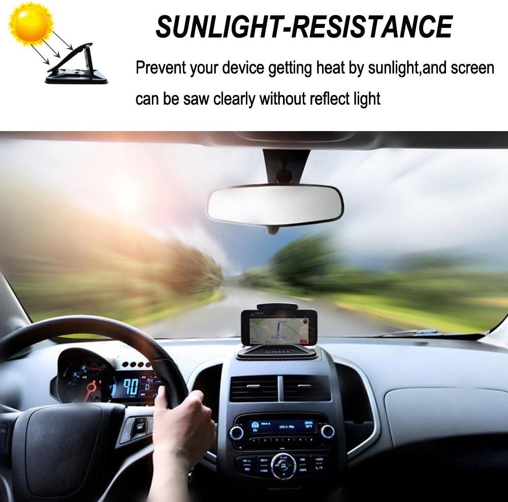 sunlight resistance dashboard pad mat phone mount