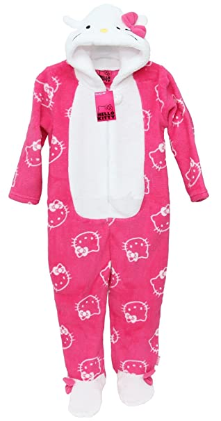 Pijama para niña Hello Kitty pijamas/Mono/disfraz/Onesie 3-13 años