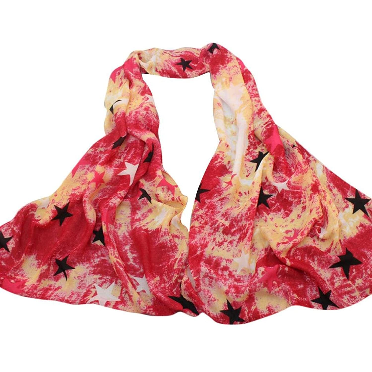 Tuscom@ Fashion Women Girls Warm Long Printing Cotton Wrap Scarf Shawl 锛