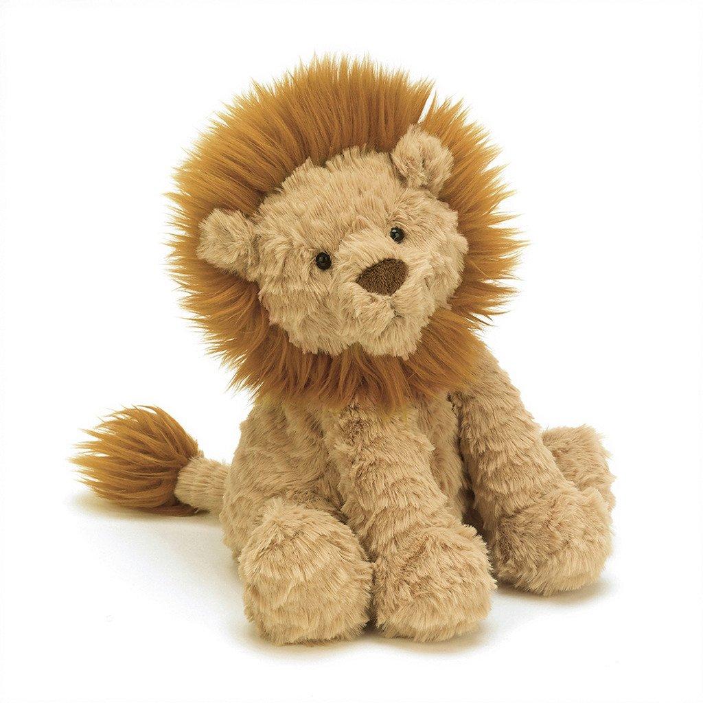 Marr/ón oscuro 23 cm Lion Fuddlewuddle JELLYCAT