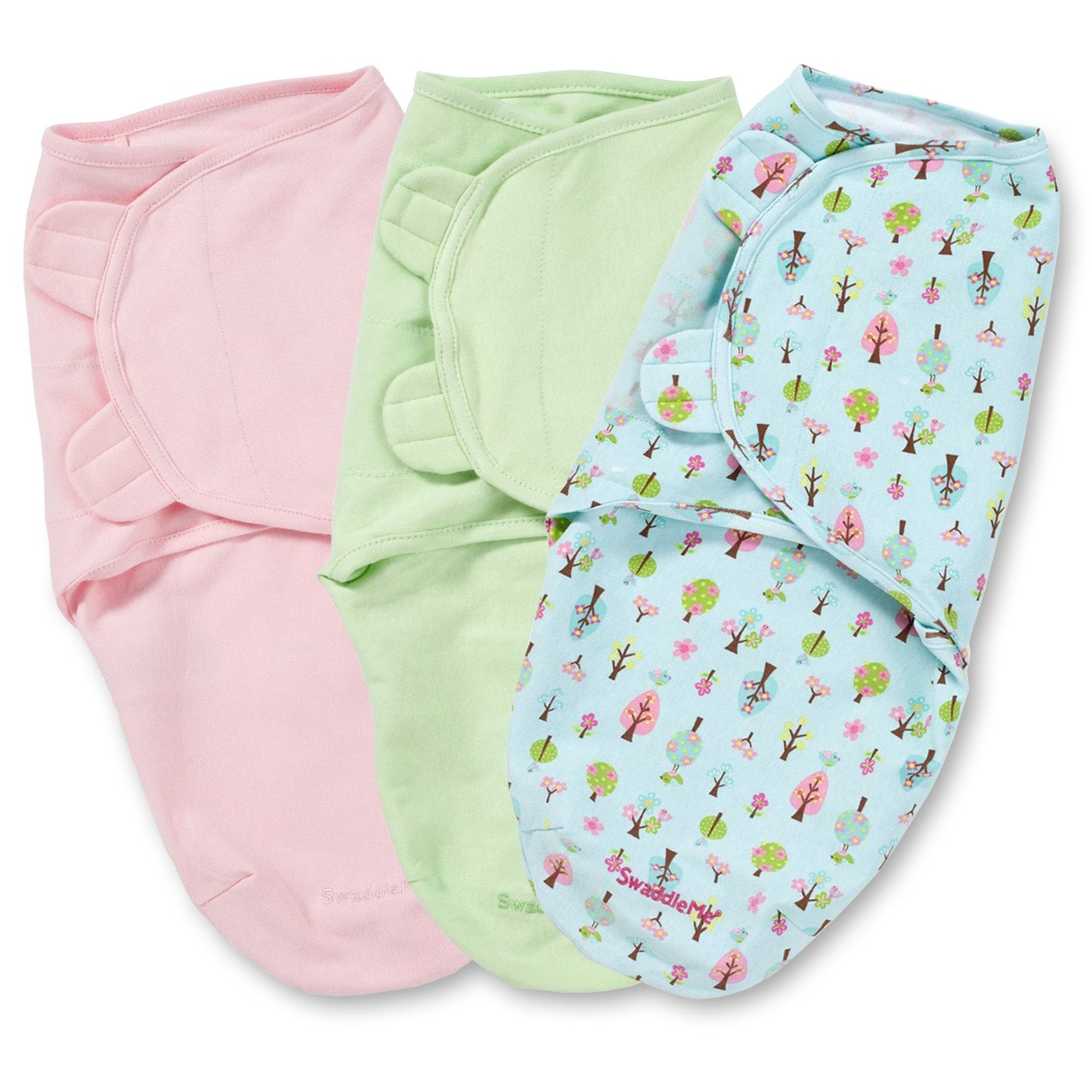 The Original Swaddle Me Adjustable Infant Wrap 2 Pk Girl Small// Medium