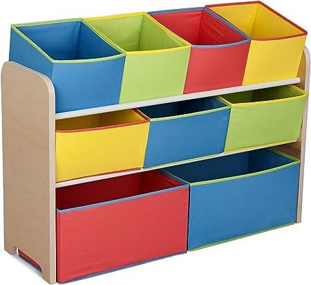 Solución práctica para guardar juguetes, juegos, equipos y libros de todos los tamaños.,Altura perfe