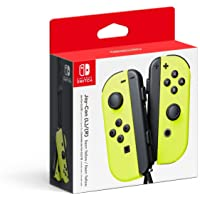 Nintendo Switch Joy-Con (L/R) Neon Yellow - Left and Right Edition