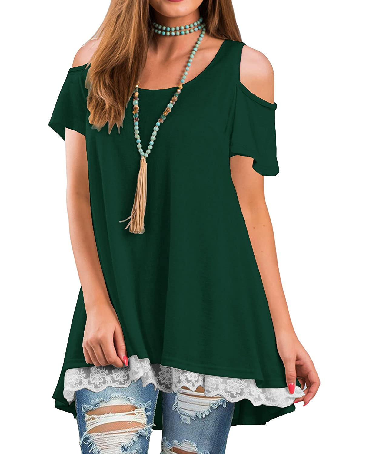 bacbe827f5696 Top 10 wholesale Ladies Cold Shoulder Tops - Chinabrands.com