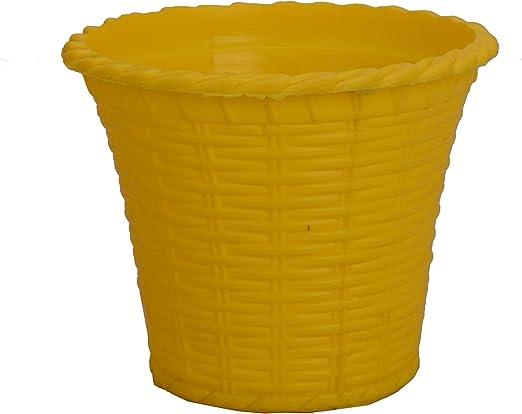 Soft Plastic Terracotta Plant Trays Nursery Pots Flower Vases Round Planter