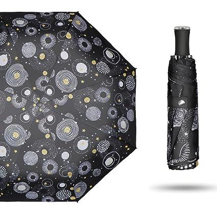 Paraguas Sombrilla Polaris Sombrilla Sombrilla Plegable Sombrilla Ultraligera Sombrilla Protección UV QIQIDEDIAN