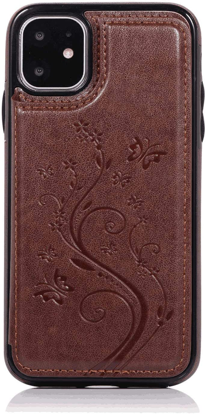 Cover for Leather Kickstand Cell Phone case Card Holders Premium Business Flip Cover Samsung Galaxy S8 Flip Case