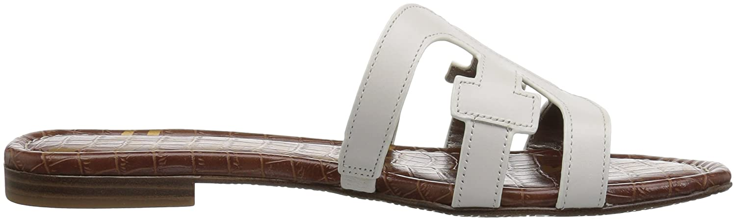 Sam Sandal Edelman Women's Bay Slide Sandal Sam B0762SX6FT 11 B(M) US|Bright White Leather f3d298