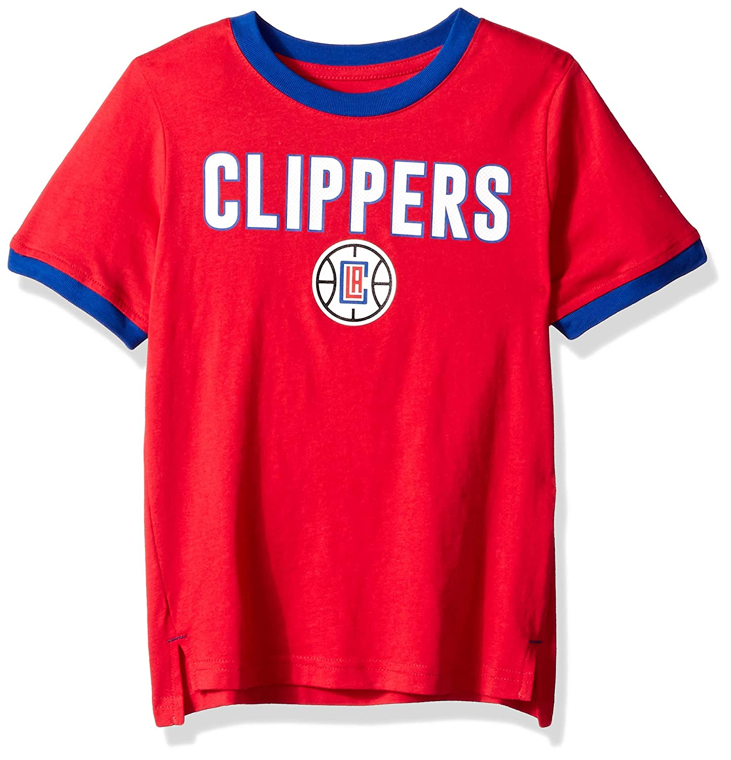 Outerstuff NBA NBA Kids /& Youth Boys Los Angeles Clippers Key Short Sleeve Fashion Tee Kids Large Red 7
