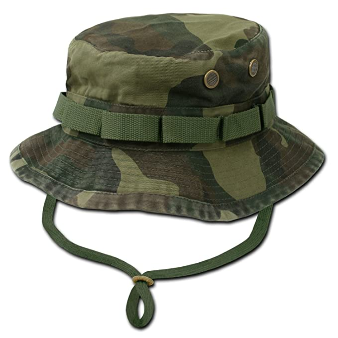 54fe0e0c Rapid Dominance Genuine Military Boonie Hats - Woodland - Medium ...