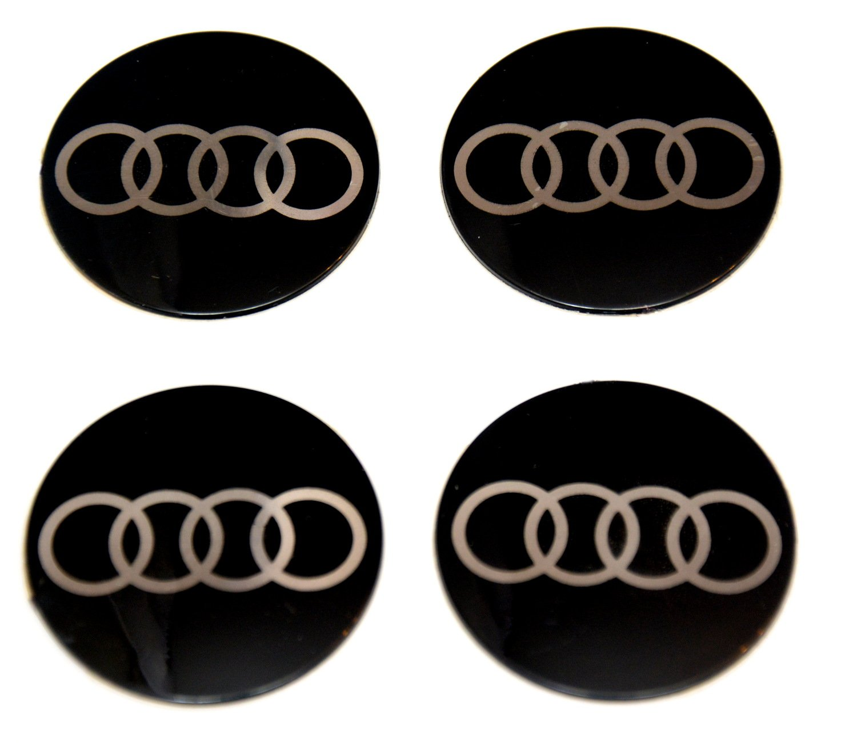 4x 55 mm Diameter Set Wheel Centre Caps Sticker Self Adhesive Emblem Decals IPRIME