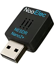 NooElec NESDR Nano 2+ Minuscule Noir RTL-SDR USB Set (RTL2832U + R820T2) avec Ultra faible Phase Bruit 0,5PPM TCXO, MCX Antenne et Télécommande; Logiciel Défini Radio, DVB-T et ADS-B Compatible, ESD Sécure