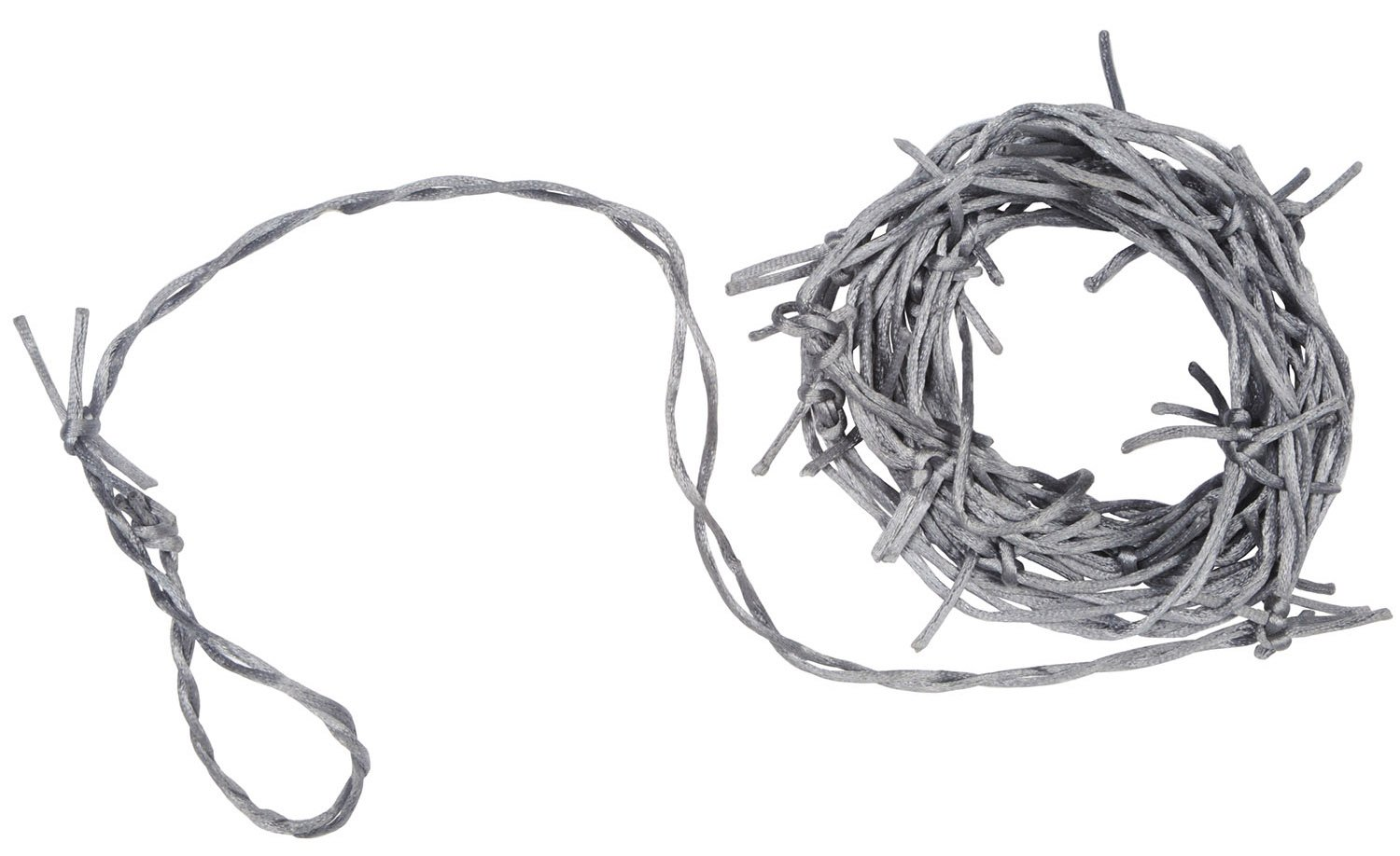Amazon.com: Beistle Silver Barbed Wire Garland 12-Feet Long (1-Unit ...