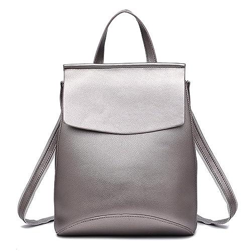 7eb6b5babff0 LCFUN Cute Leather Backpack Travel Rucksack Mini Bookbag for Women ...