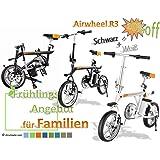 2x Airwheel R3 zum unschlagbaren Vorteilspreis (Schwarz, Weiß) Faltbares Elektrofahrrad E-Bike Pedelec