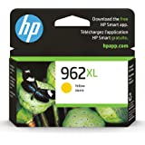 HP 962XL   Ink Cartridge   Yellow   Works with HP OfficeJet Pro 9000 Series   3JA02AN