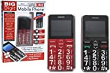 Big Digit Mobile Phone With Large Digits SOS Button Unlocked Great Senior Citizen Gift