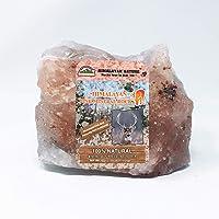 Himalayan Nature Animal Licking Salt Mineral Rock,100% Natural Rock Salt - Deer Attractant Rock | 6-8 LBS