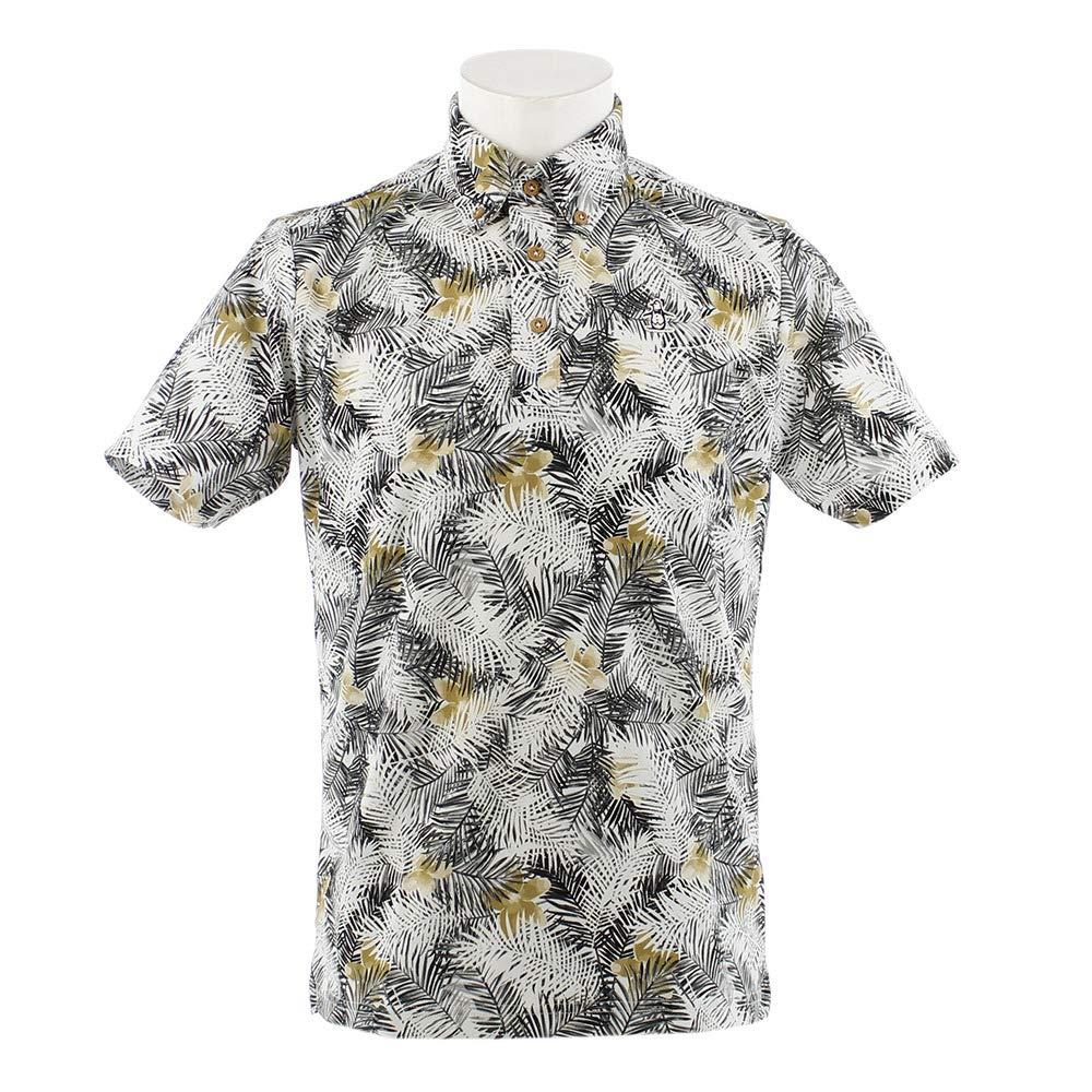 最高の品質の [マンシング] ブラック Munsingwear ボタンダウン半袖ポロシャツ メンズ メンズ MGMNJA03 サンスクリーン B07PV3VWJ8 UVカット 2019年春夏 L ブラック B07PV3VWJ8, oasis style:b8a2659b --- ballyshannonshow.com