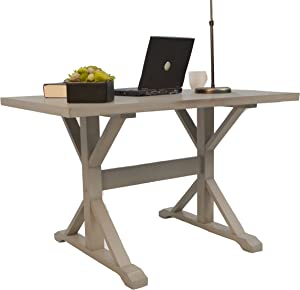Carolina Chair & Table Lucia Writing Desk, Weathered Gray