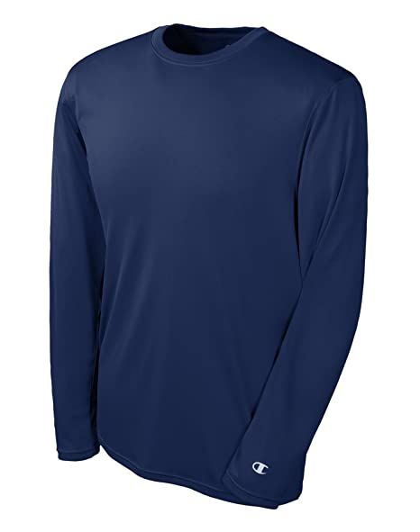 795cdaef Champion Men's Double Dry Long Sleeve Tee at Amazon Men's Clothing store: