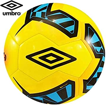 Umbro Neo Trainer – Balón de fútbol, talla 5, color amarillo/negro ...