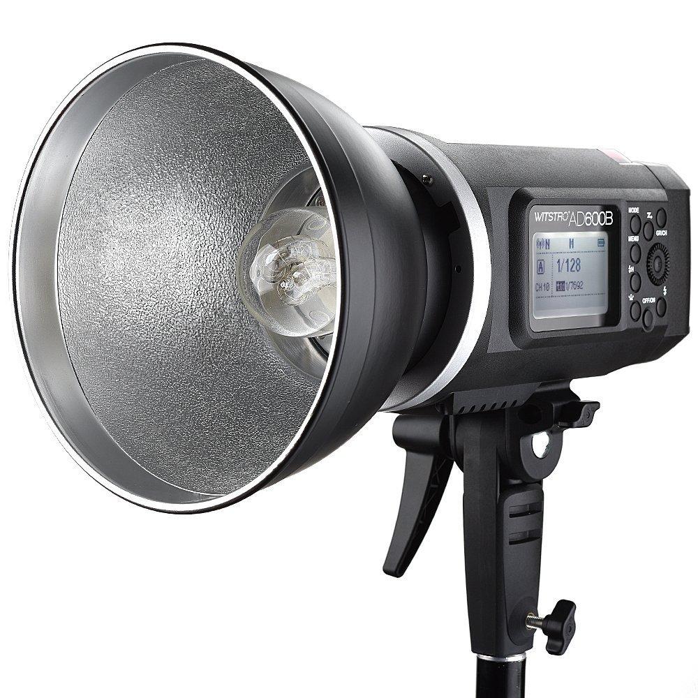 Godox AD600B TTL Bowen Mount GN87 600W HSS 1/8000s 2.4G Wireless with 8700mAh Lithium Battery Outdoor Studio Strobe Flash,Godox XPro-F Flash Trigger for Fuji Camera by Godox (Image #2)