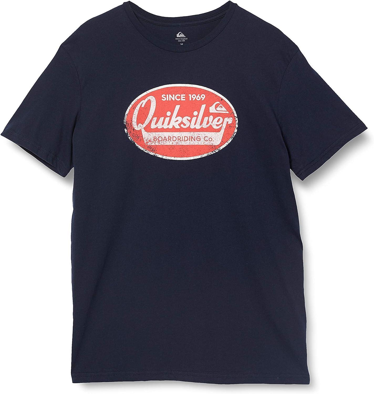 navy blazer Quiksilver Mens What we do Best-T-Shirt S