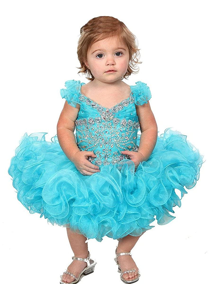 Amazon.com  MSJME Little Girls  Pageant Dresses Cupcake  Clothing 51edf13aa621