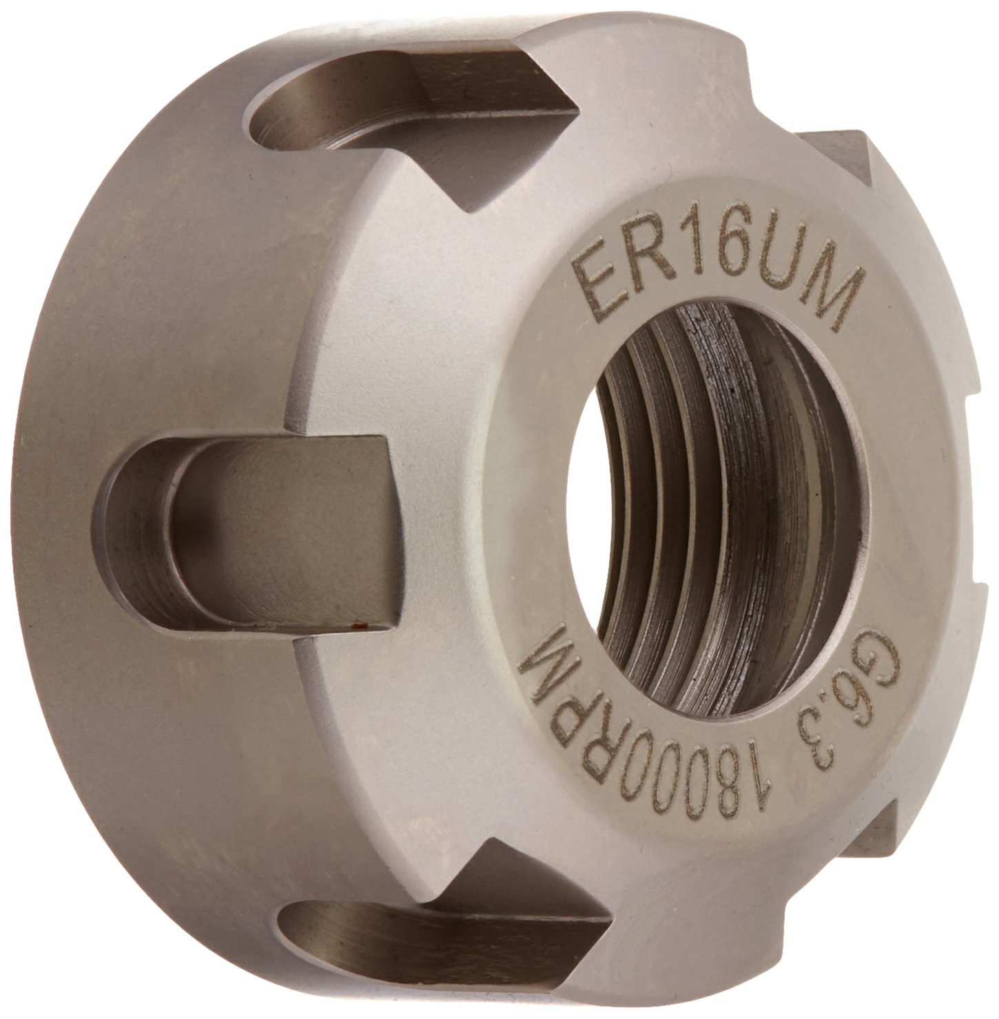 Pro Series by HHIP 3900-0688 Collet Chuck Nut, Um-Type Er16, 18000 RPM