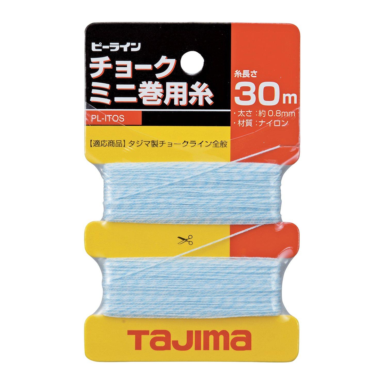 Tajima Ersatz-Schnur f/ür Chalk Rite Schlagschnurger/ät 0,5 mm x 30 m TAJ-54340 1 St/ück