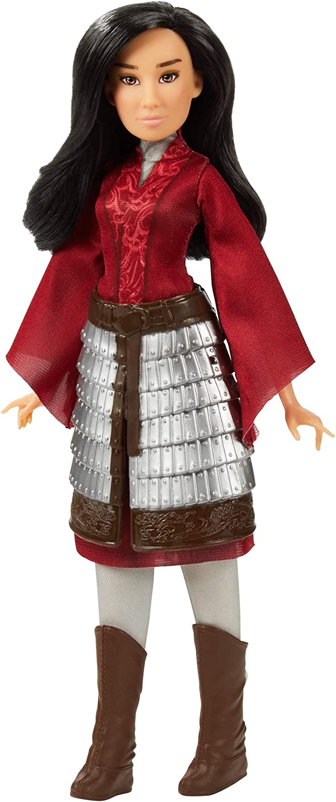 Amazon Com Disney Mulan Fashion Doll With Skirt Armor Shoes Pants And Top Inspired By Disney S Mulan Movie Toy For Kids And Collectors Toys Games