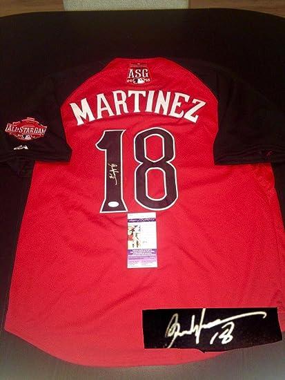 best service 3f31c 5db3a Carlos Martinez Autographed Jersey - 2015 All Star Cert ...