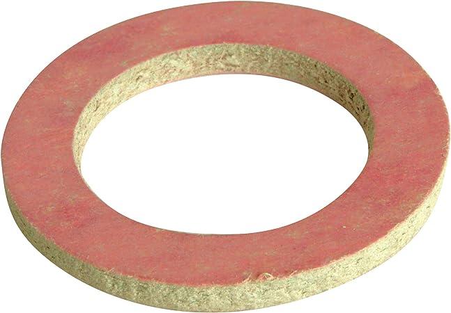 Lot de 10 joints fibre rose 12//17 mod/ér/é SOMATHERM FOR YOU CJ705 Eau, huile, gaz, air, fuel Le joint fibre permet de r/éaliser l/étanch/é/ît/é sur les raccords