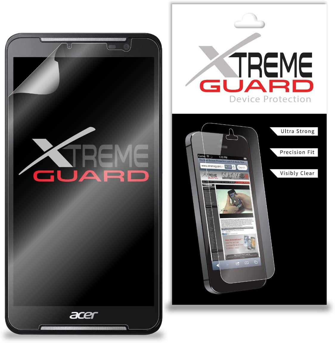 Premium XtremeGuard™ Screen Protector Cover for Acer Iconia Talk S A1-724 Tablet (Ultra Clear)