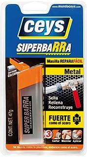 CEYS 4572B140 Reparador masilla epoxi plasti, Azul, 0: Amazon.es ...