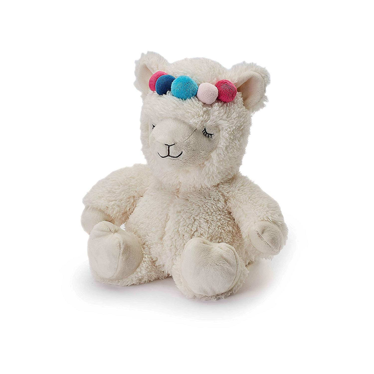 Warmies Plush Heat Up Microwavable Soft Cuddly Toys with A Lavender Scent, Llama by warmies