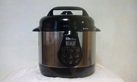 Amazon.com: Elite Bistro 2QT eléctrico olla de presión con ...