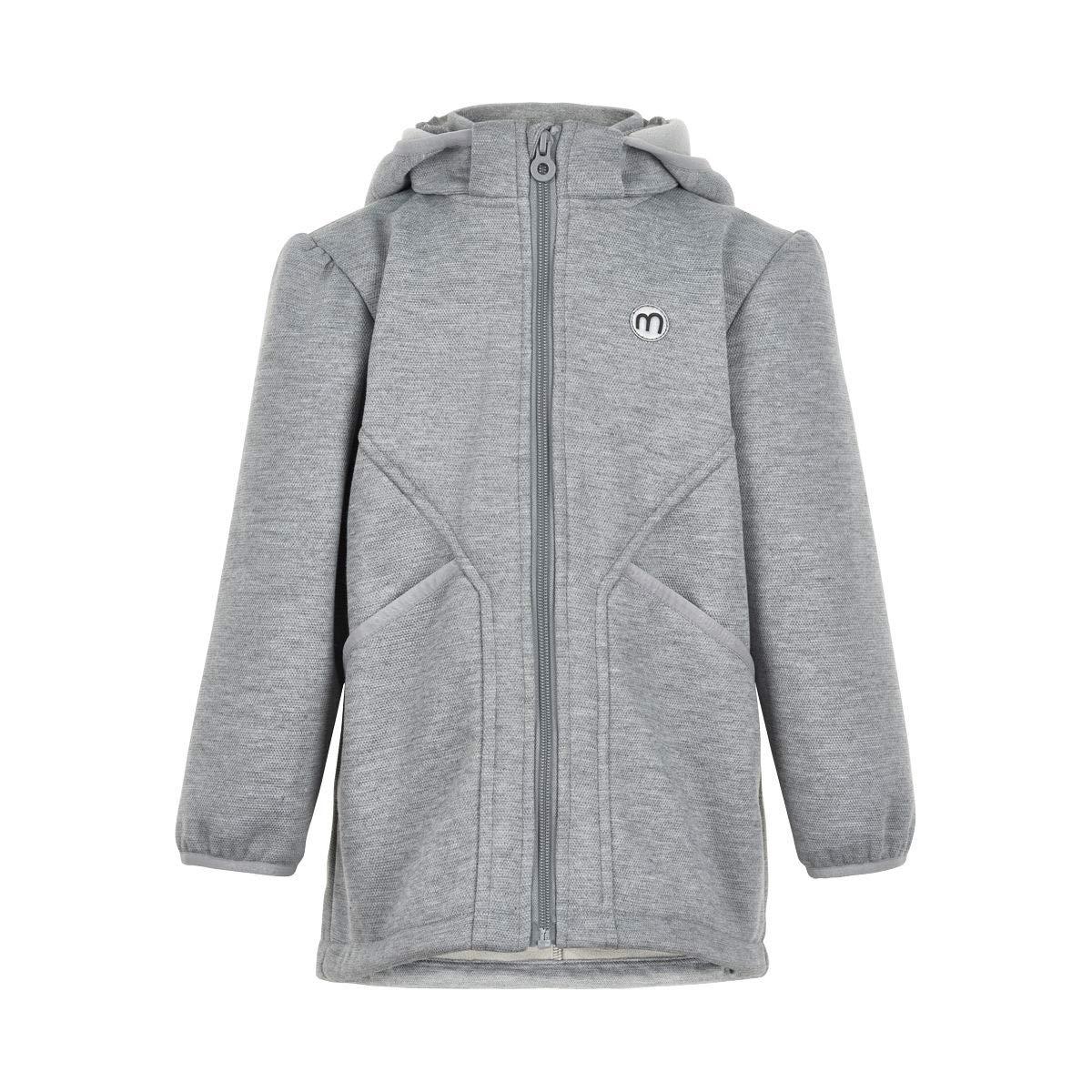 gris 128 cm Minymo - Blouson - sans Motif - Fille