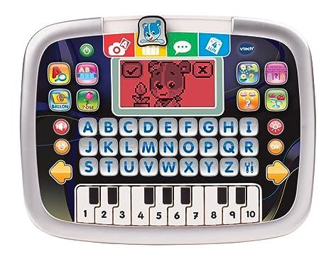 VTech Tablette Ptit Genius Kid Noire - electrónica para niños (2 año(