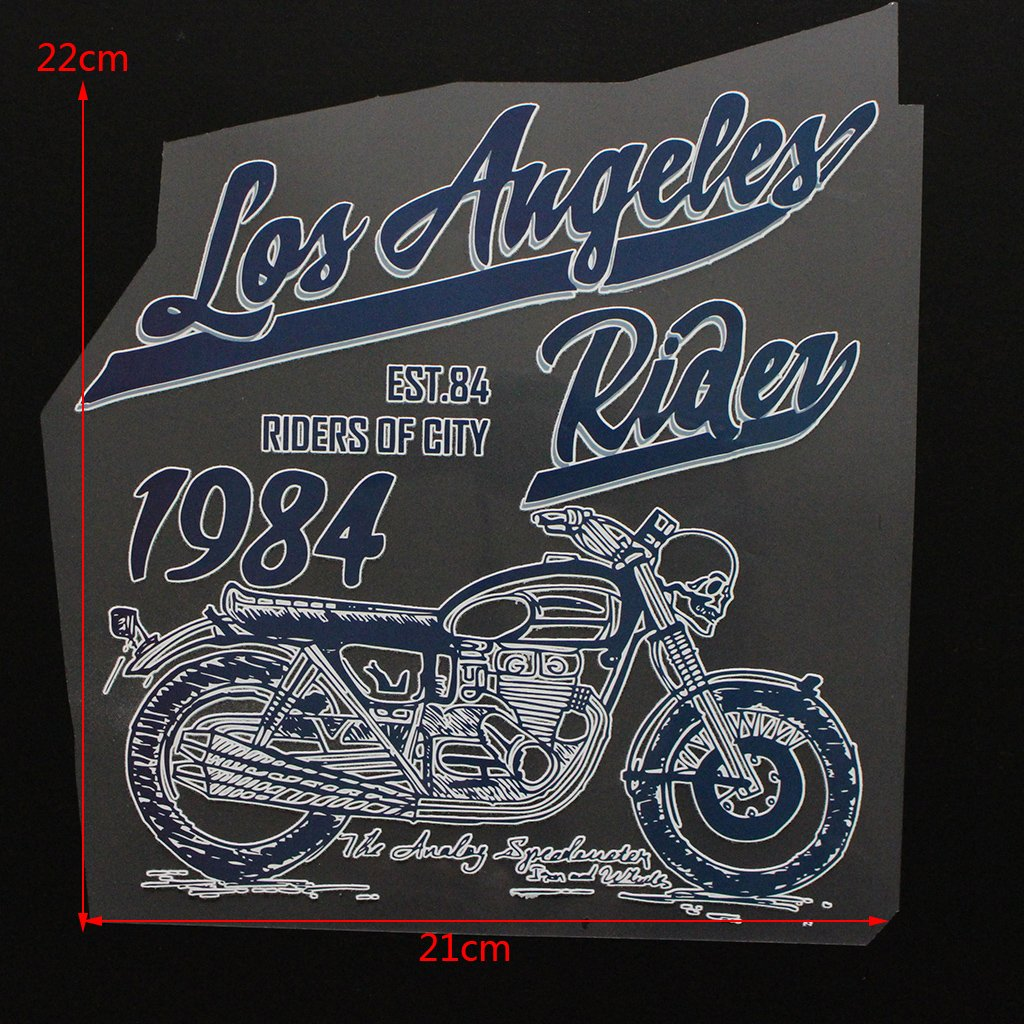 # 86 SLYlive Iron-On DIY T-Shirt Appliques Clothing Heat Transfer Sticker Patch