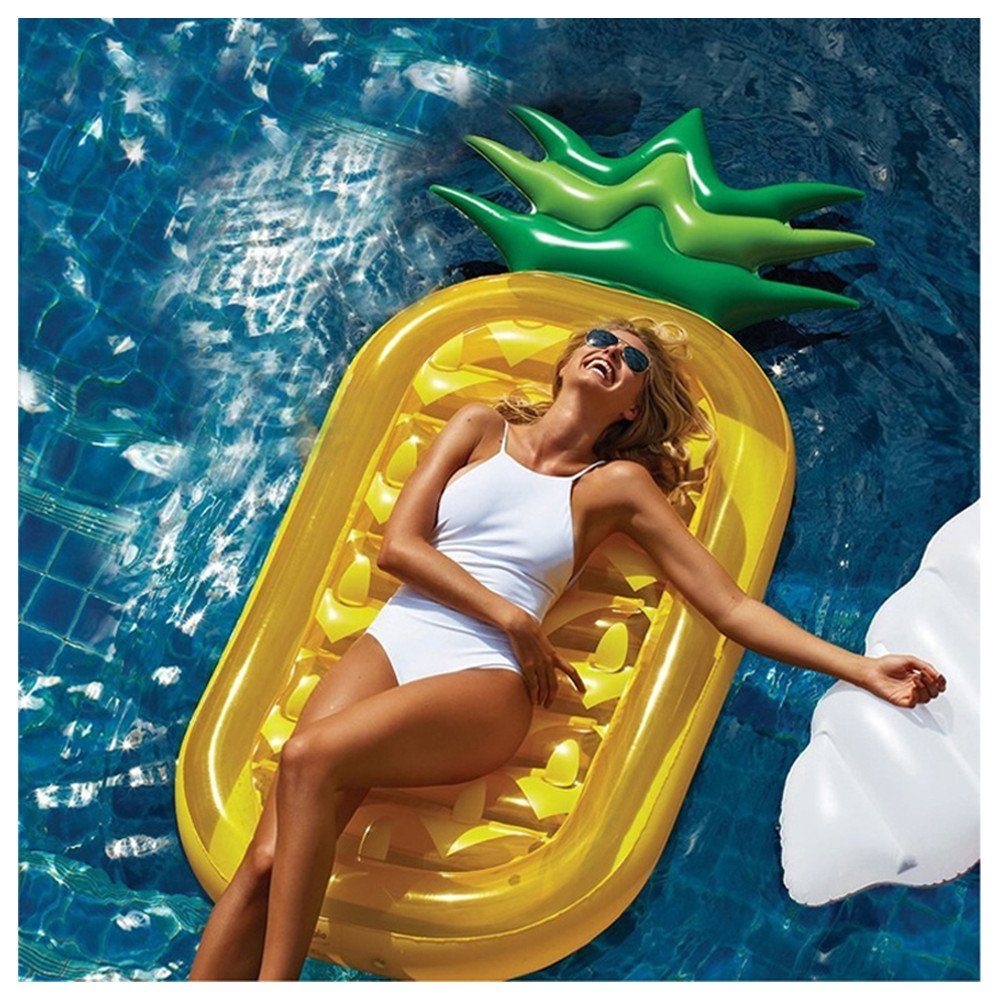 Gigante hinchable piscina flotadores grande al aire libre piscina juguetes flotante transparente anillo de natación para adultos y niños verano playa Shell ...