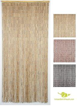 Rideau de porte Perles Bois et Bambou, Taille 90x200cm, pour ...